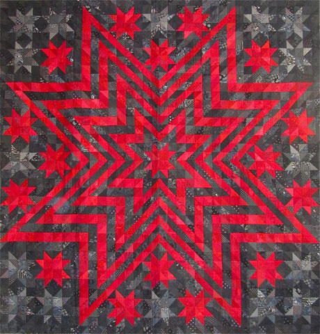 Show quilts slo quilters for Red door design quilts